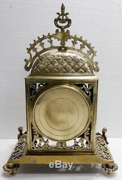 Superbe PENDULE bronze NAPOLEON III XIXème révisée Fonctionne Clock horloge