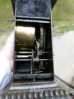 Tourne broche ancien mecanique fonctionne 2 hauteur de broche