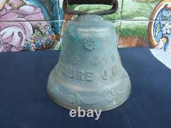 Trés Belle Et Ancienne Cloche Ou Sonnaille En Bronze Jura Alpes Autres