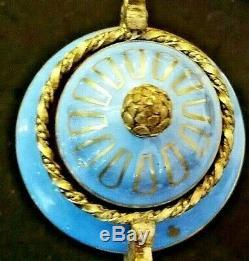 VASE EN PORCELAINE LIMOGES ou PARIS dans le goût de SEVRES monture bronze 35,5cm