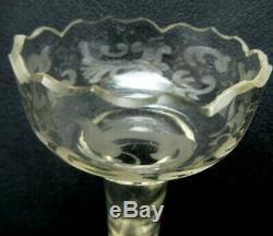 Vase porte-bouquet cristal en bronze doré, Napoléon III